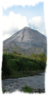 View of the Arenal Vocano during the Quick Getaway to Costa Rica package!